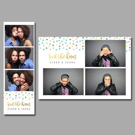 Confetti Package Photobooth Design Co - Photo booth design templates