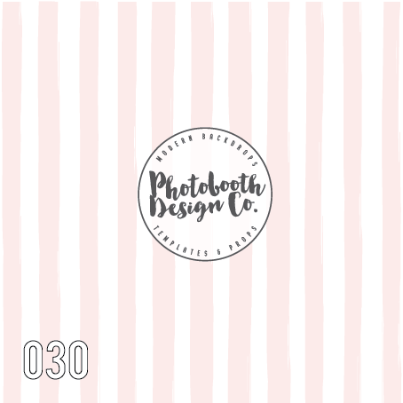 pink stripe photo booth backdrop
