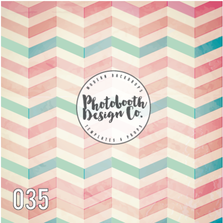 pastel chevron backdrop