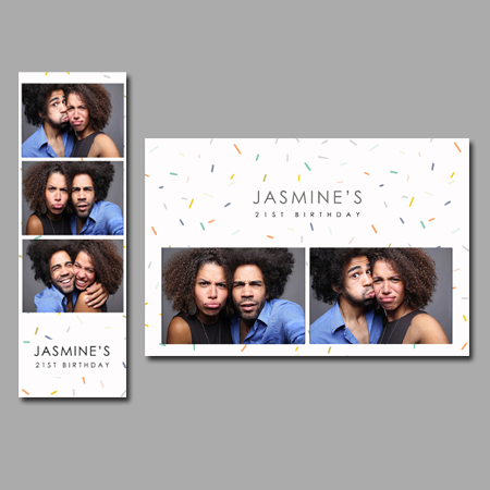 SPRINKLES PHOTOBOOTH TEMPLATE