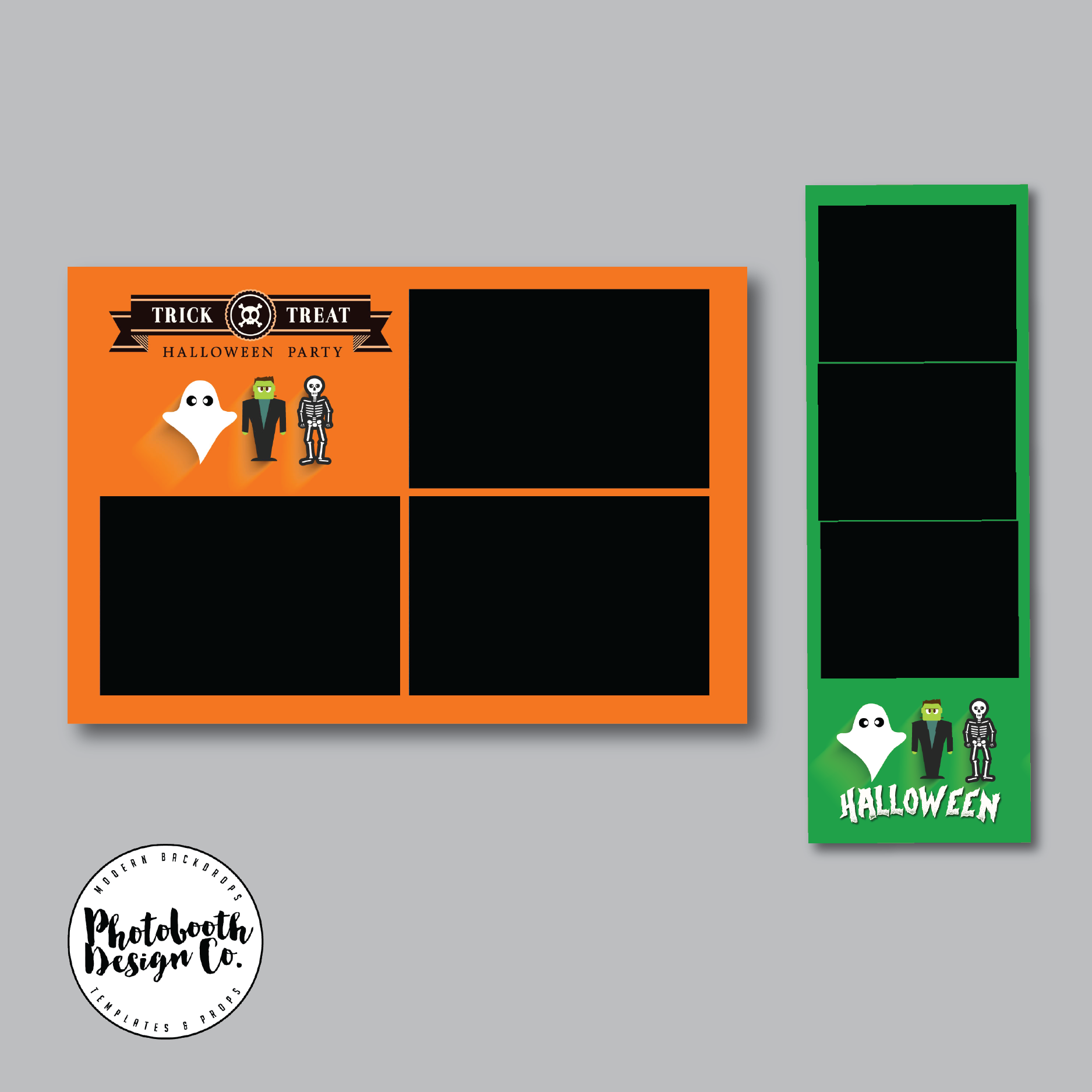 halloween bundle   photobooth design co
