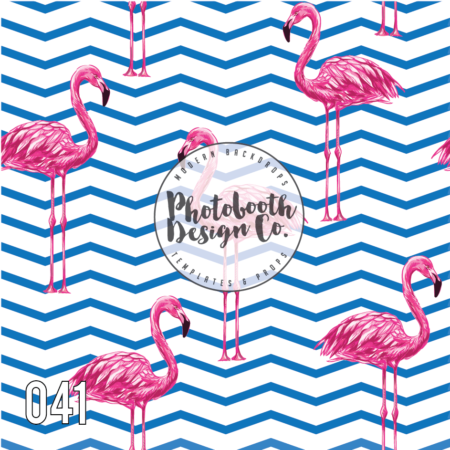 flamingo photobooth backdrop