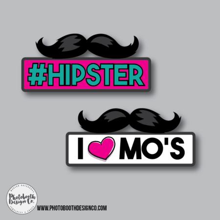 Moustache Booth Prop