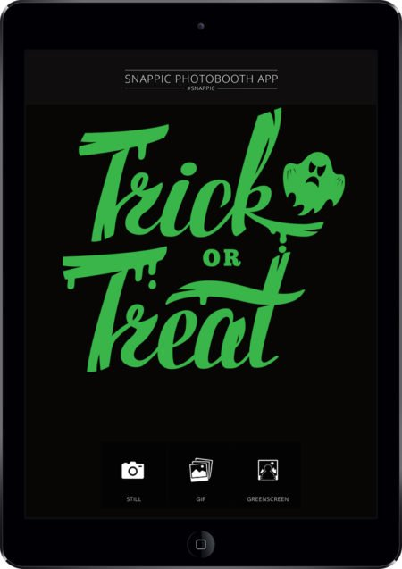 Snappic Ipad Branding halloween