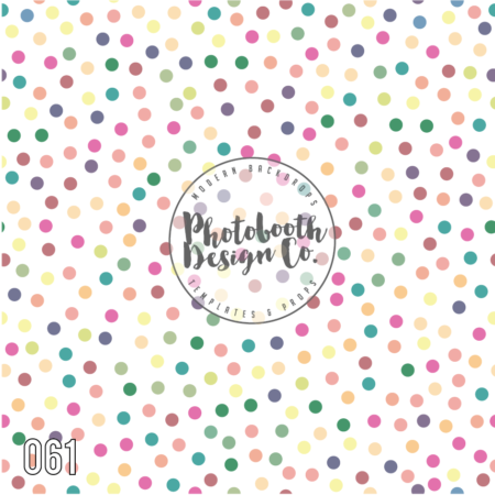 Confetti Photobooth Backdrop