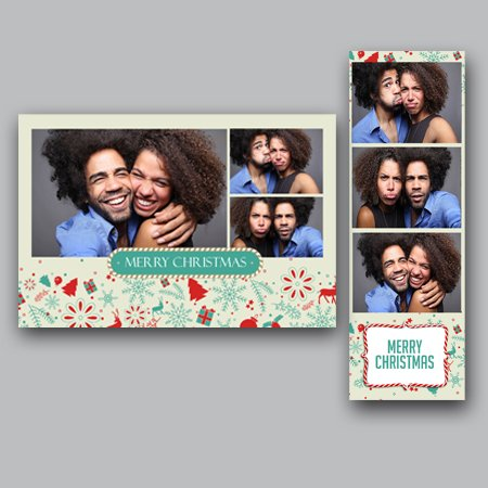 Merry Christmas Photobooth Design Co - Photo booth design templates