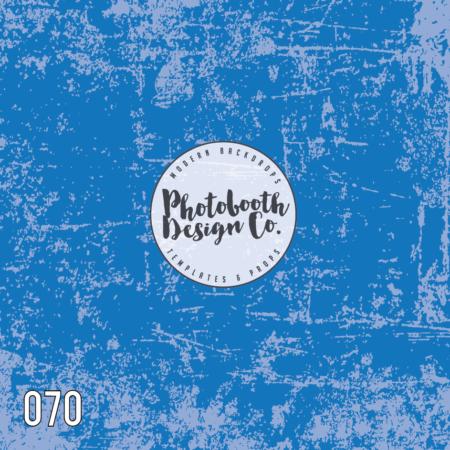 070 Rough Blue Backdrop