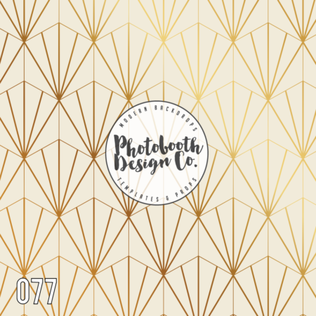 077 art deco photobooth backdrop