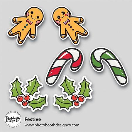 Festive Christmas Props