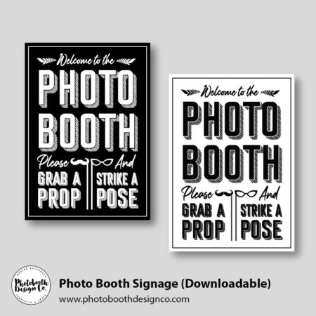 Photo Booth Sign Downloadable