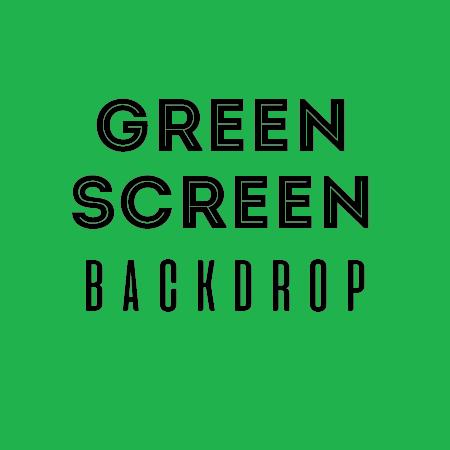 chromakey green screen backdrop