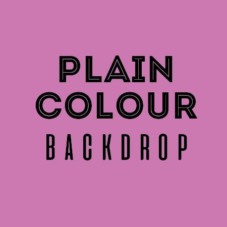 plain colour backdrop